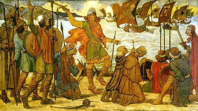 The Vikings settled in Dublin
