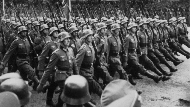 (1939-1945) World War II.