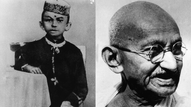 Gandhi organizes the first civil disobedience campaign.