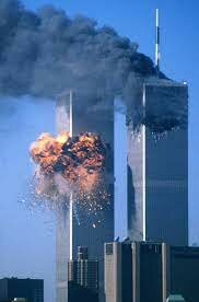 Attack on the Twin Towers in New York.