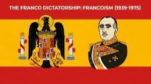 Military dictatorship of Francisco Franco in Spain. 1939-75