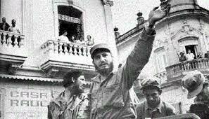 Triumph of the Cuban Revolution with Fidel Castro.