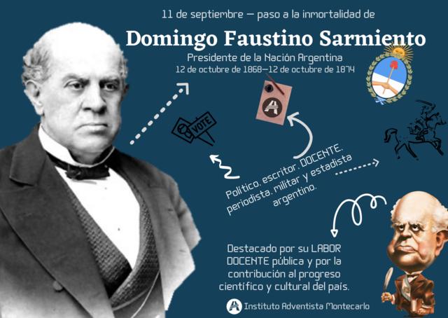 PRESIDENCIA DE DOMINGO FAUSTINO SARMIENTO.