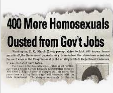 Employment of Homosexuals and Other Sex Perverts in Government