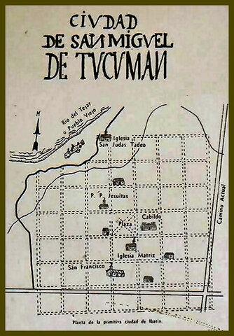 Fundacion de San Miguel de Tucumán (Corriente del Norte)