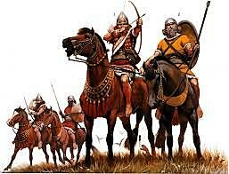 Los asirios y su medio trasporte