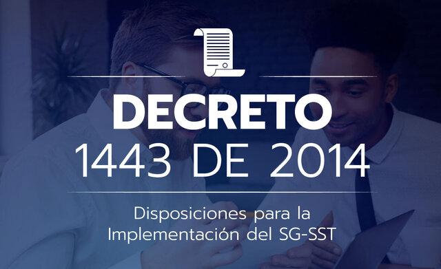 Decreto 1443 - 2014 Colombia