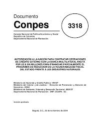 COMPROMISO DEL PLAN NACIONAL DE DESAROLLO