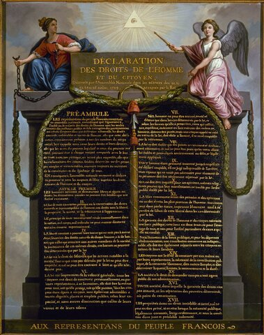 Declaración de los Derechos del Hombre de 1789