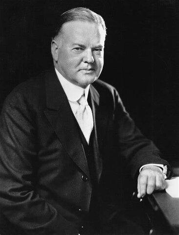 Presidencia de Herbert Hoover 1929-1937
