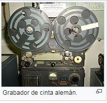 MAGNETÓFONO - M.de Registro y Transmisión magnética