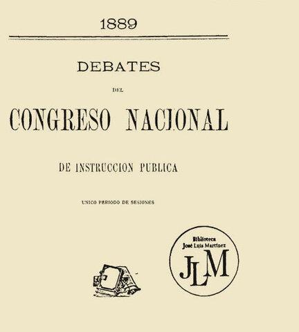 1er Congreso Nacional de Instrucción Pública