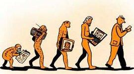 Modelos de la comunicación y evolución. timeline
