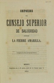 Consejo Superior de Salubridad del departamento de México