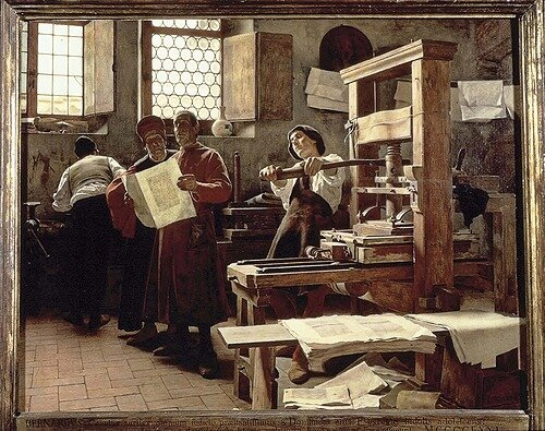 Fabricacion de la imprenta