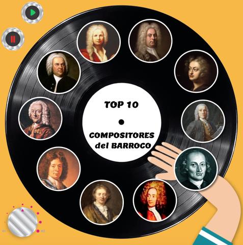 Compositores del barroco.
