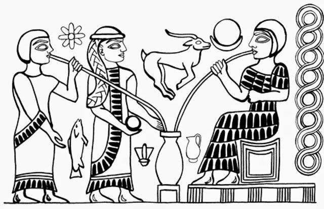 Producción de cereza en civilización Sumeria