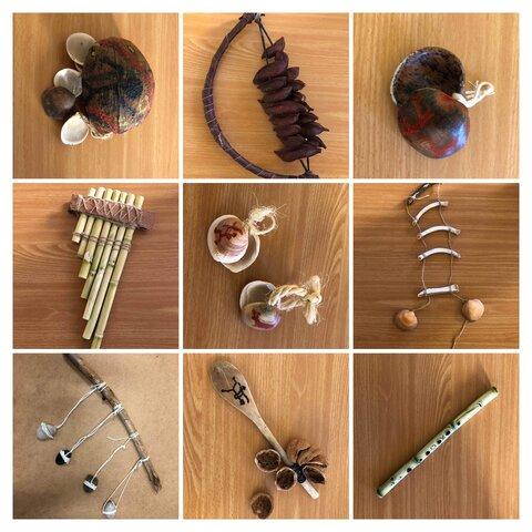 Primeros instrumentos musicales.