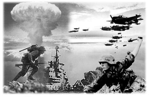 Antecedentes y el desarrollo de la Segunda Guerra Mundial.