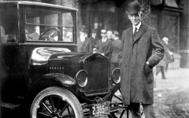 AUTOMOVIL MODELO FORD - Henry Ford