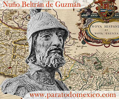 Inicio de las expediciones a cargo de Nuño Beltrán.