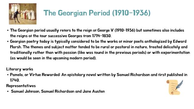 The Georgian Period