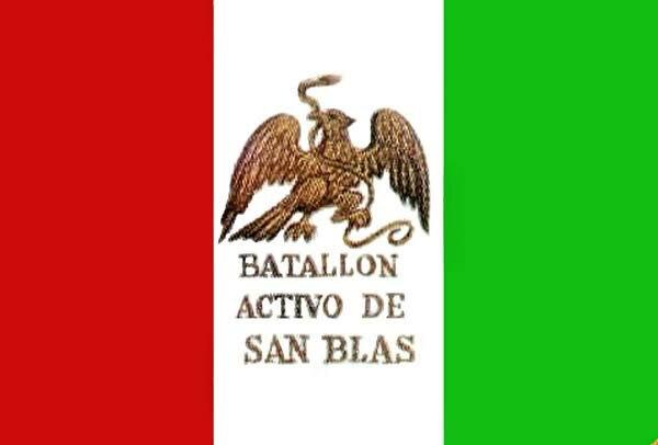 Bandera del Batallón de San Blas