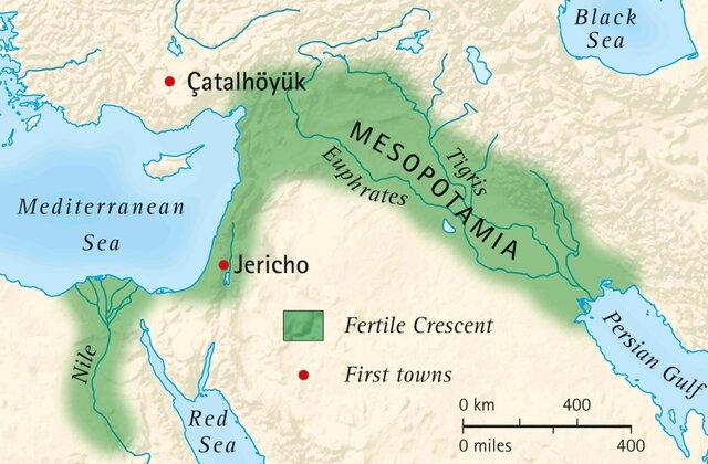 EN LA ANTIGUA MESOPOTAMIA