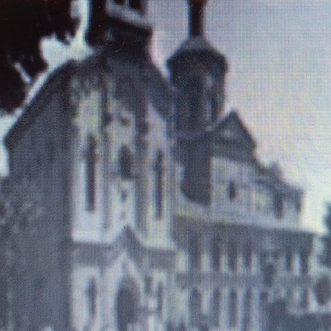 Párroco de la Iglesia de las Nieves 1920