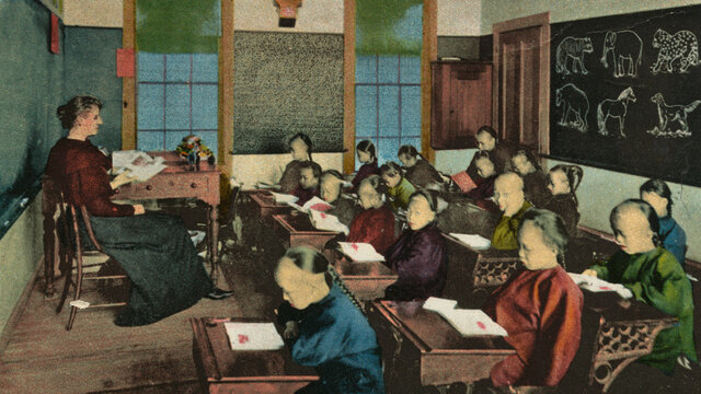 Education to Chinese Immigrants