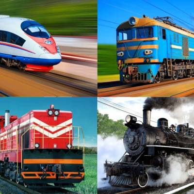 История развития железнодорожного транспорта timeline
