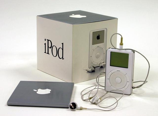 Lanzamiento del iPod,