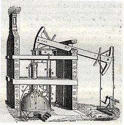 Атмосферный двигатель Томаса Ньюкомена