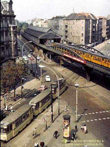 Открытие первой городской электрической железной дороги