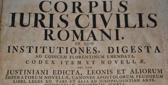 EL CORPUS IURIS CIVILIS 529-565