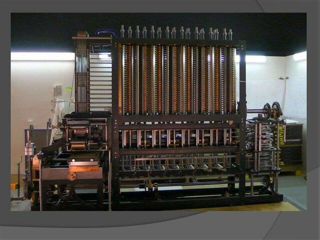 Разностная машина: Чарльз Бэббидж