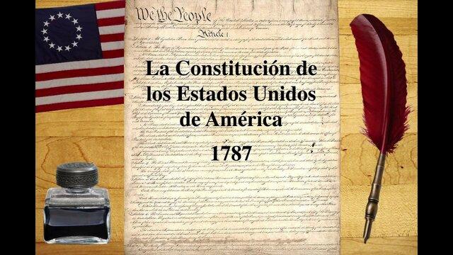 LA CONSTITUCIÓN DE ESTADOS UNIDOS DE AMÉRICA