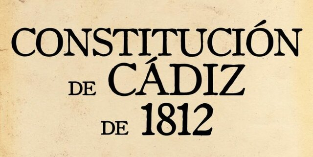 LA CONSTITUCIÓN DE CÁDIZ JURADA Y PROMULGADA EN ESPAÑA