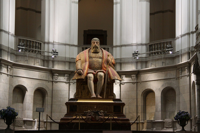 Gustav Vasa blir krönt till kung