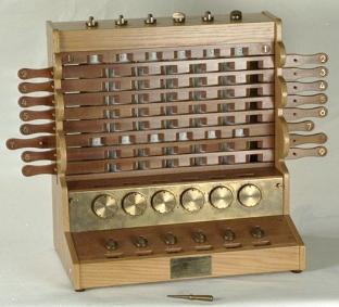 Rechenuhr o reloj calculador