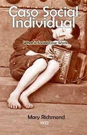 """Publicación del libro """"caso social individual""""."""
