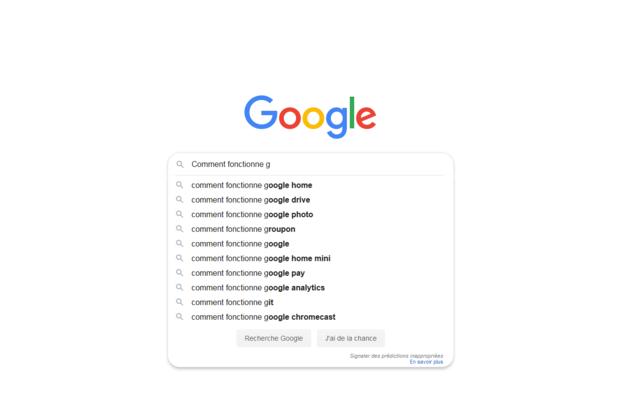 Naissance de Google