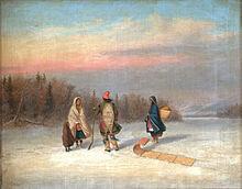 Arrivée des premiers humains sur le territoire du Québec