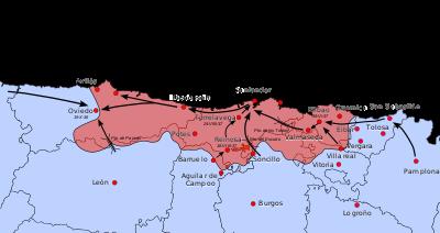 Santander es ocupado por los rebeldes
