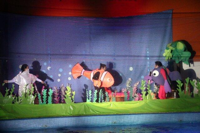 Obra de Buscando a Nemo