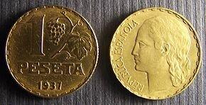 Pesseta moneda nacional