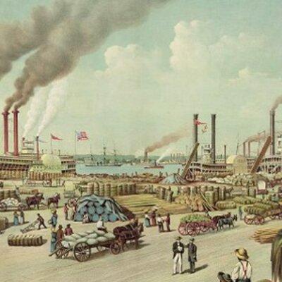 America (1800-1876) timeline