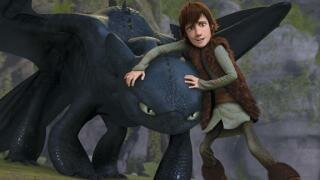 8. Astrid finds out about Toothless.