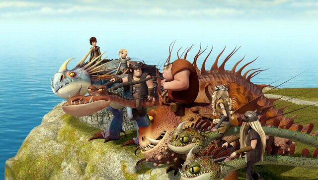 11. Hiccup and his friends figure out why dragons raid