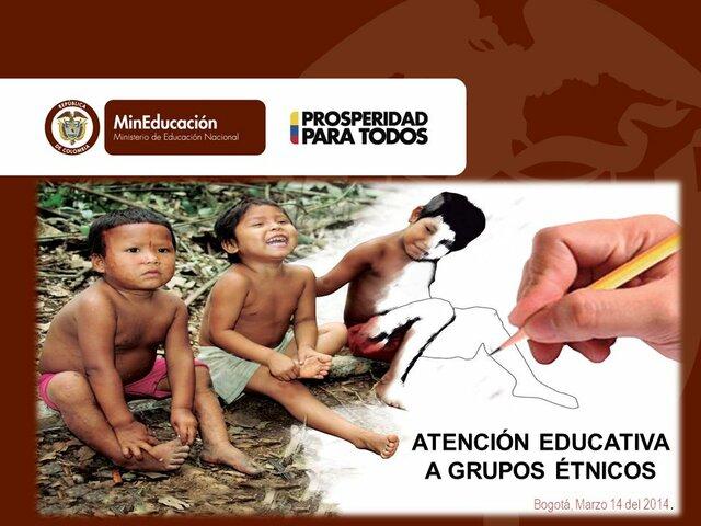 Decreto 804 de 1995 reglamenta la Ley 115 de 1994 - Atención educativa para grupos étnicos